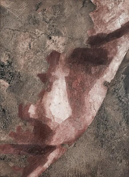 """""""Fragment II"""" - Oil on board, 40x30cm."""