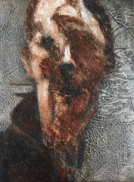 Mark Youd - Fragment XVII - 40x30cm - Oil on board