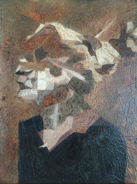 Mark Youd - Fragment XIX - 40x30cm - Oil on board