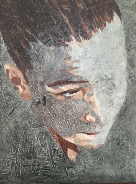 Mark Youd - Fragment XVIII - 40x30cm - Acrylic on board