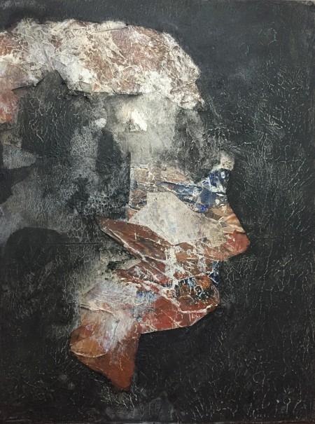 Mark Youd - Fragment XX - 40x30cm - Acrylic on board