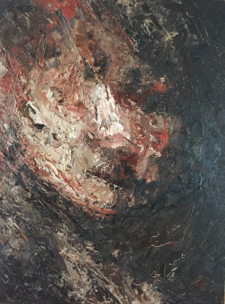 Mark Youd - Fragment XXVI - 40x30cm - Oil on board