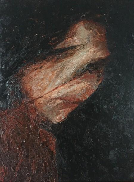 Mark Youd - Fragment XXVII - 40x30cm - Oil on board