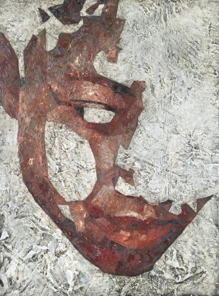 Mark Youd - Fragment XXVIII - 40x30cm - Oil on board