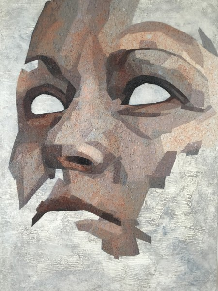 Mark Youd - Fragment XLIX - 100x75cm - Oil on Canvas
