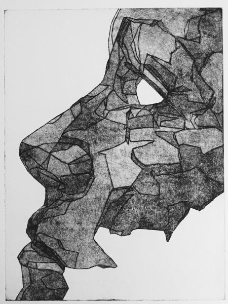 Mark Youd - Study II - 40x30cm - Etching