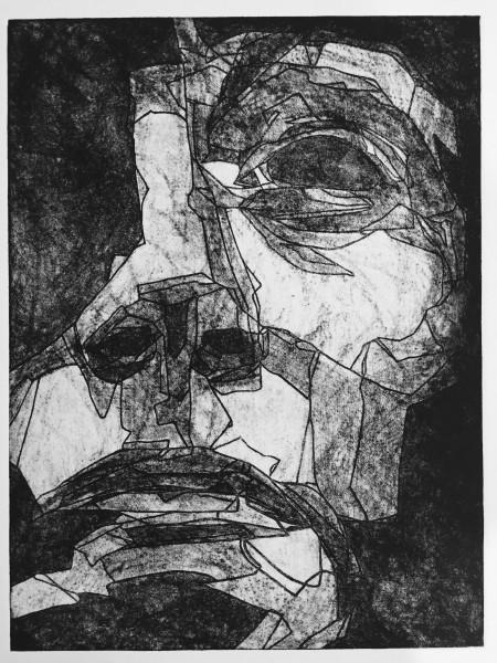 Mark Youd - Study III - 40x30cm - Etching