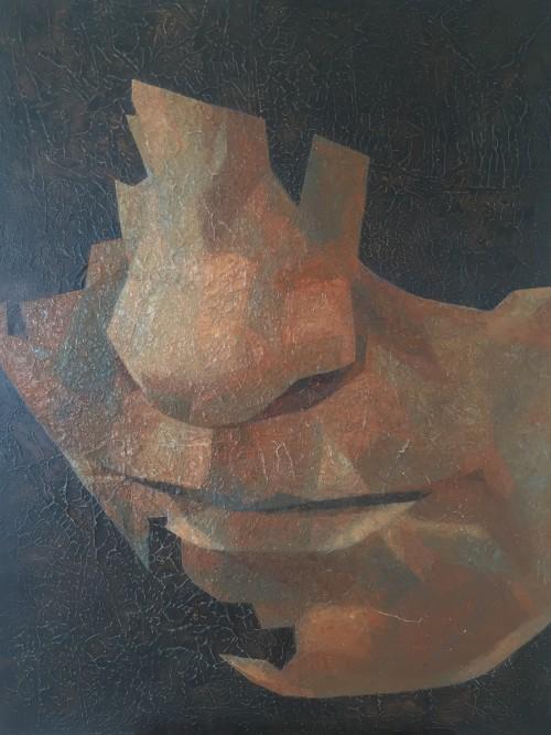 Mark Youd - Fragment LI - 100x75cm - Oil on Canvas