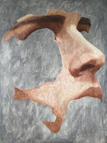 Mark Youd - Fragment LII - 100x75cm - Oil on Canvas