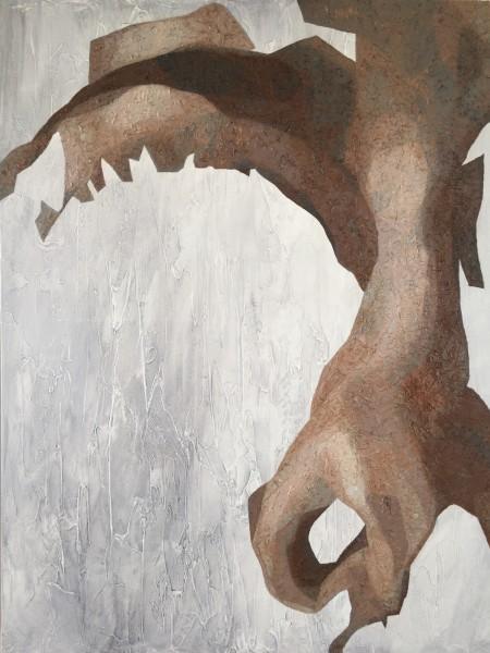 Mark Youd - Fragment LIV - 100x75cm - Oil on Canvas