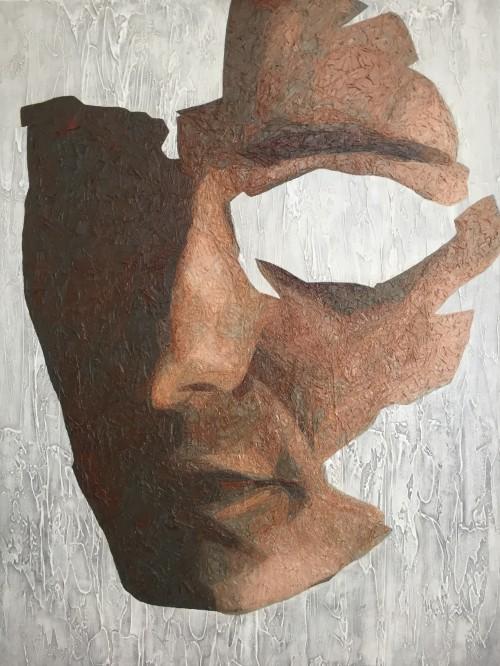 Mark Youd - Fragment LV - 100x75cm - Oil on Canvas