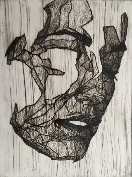 Mark Youd - Study for a Fragment V