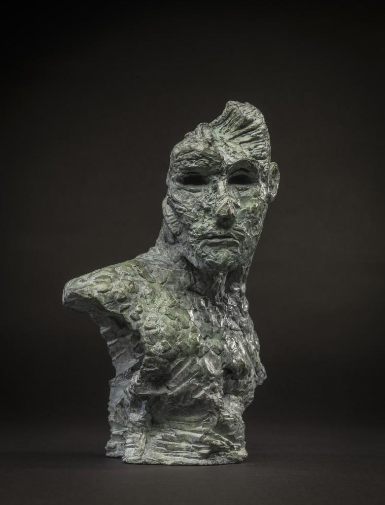Mark Youd - Fragment LVI, Bronze, 24cm high (1)