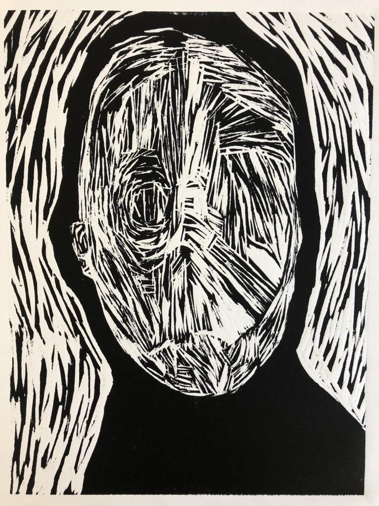 Mark Youd - Untitled Woodcut 27Sept18